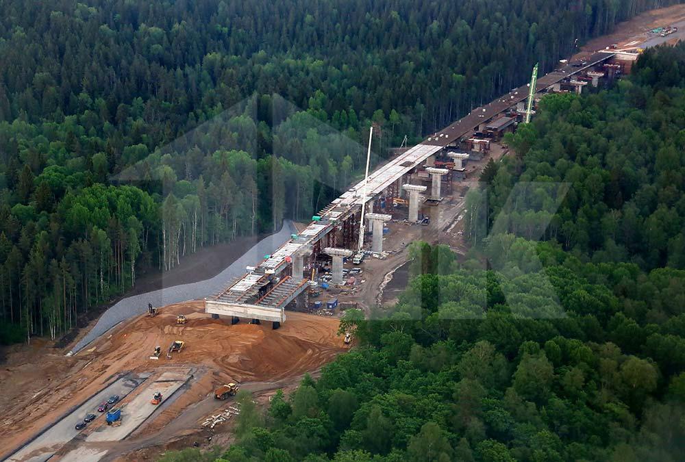 Строительство транспортной магистрали