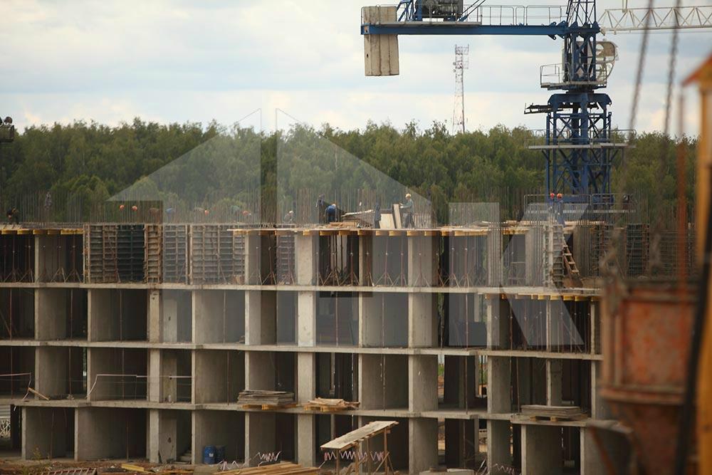 Строительство жилого комплекса в Звенигороде