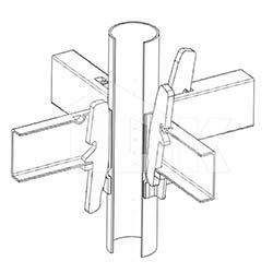 Клиновой узел - схема